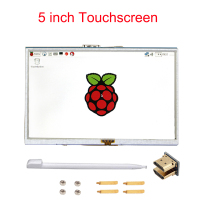 Cubieboard Raspberry Pi 2 5 Inch 800x480 LCD TFT Touch Screen Display Compatible For Raspberry Pi
