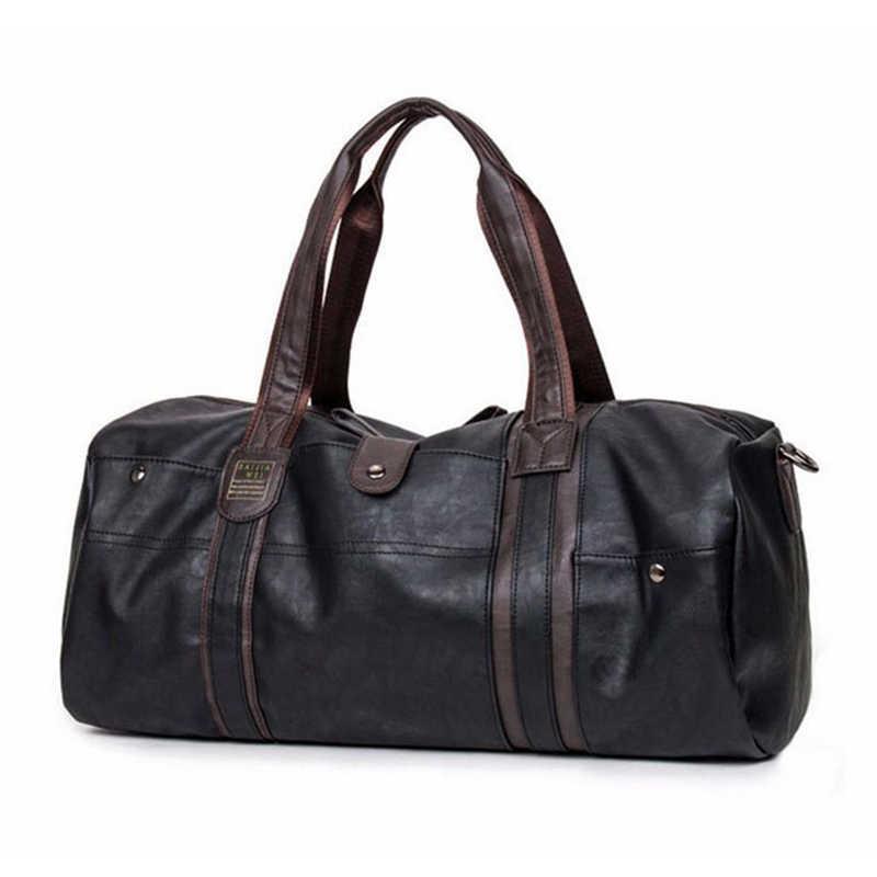 Модная дорожная сумка большой емкости, деловая сумка, сумка на плечо, сумка-мессенджер, сумки, повседневная мужская сумка через плечо, дорожные сумки