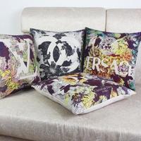 Miễn phí vận chuyển 100% mới trang trí nội thất OEM tùy chỉnh nghệ thuật retro thơm nặng cotton Linen Cushion gối bán buôn chất lượng cao