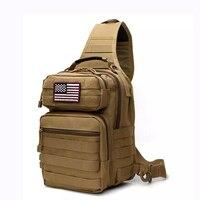 전술 슬링 가방 팩 군사 로버 어깨 슬링 배낭 몰리 폭행 범위 가방 매일 운반 기저귀 가방 데이 팩 작은|등산가방|   -