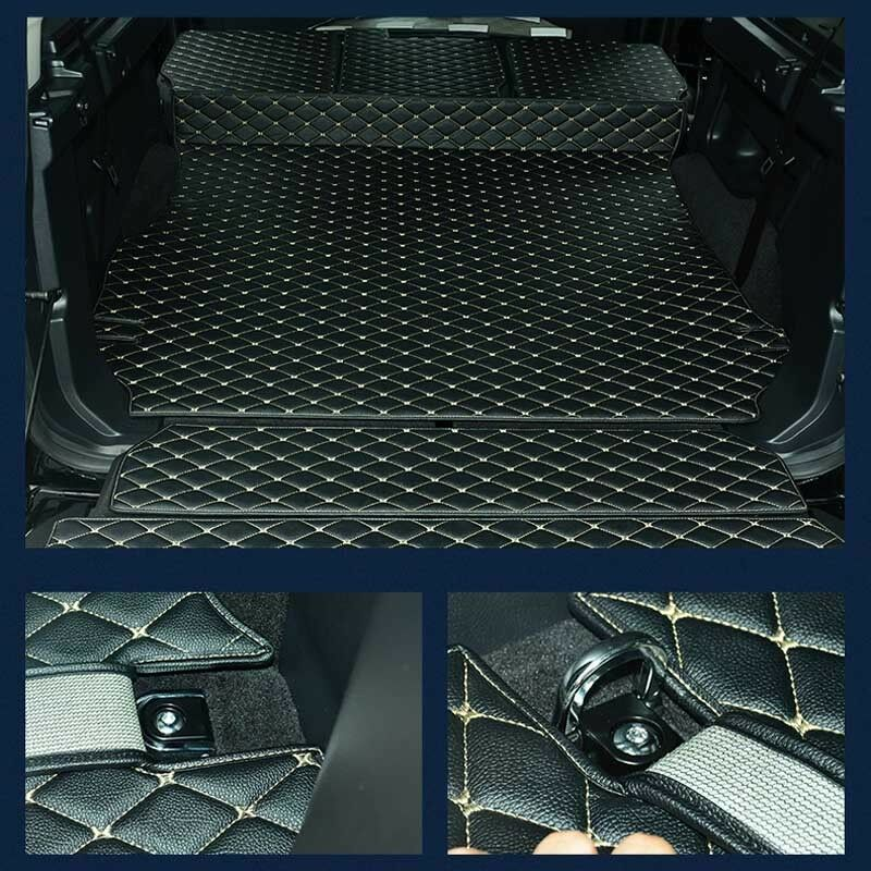 Heel Pad Perfect Fit Beige Car Floor Mats Set for Land Rover Discovery 4 2009/>