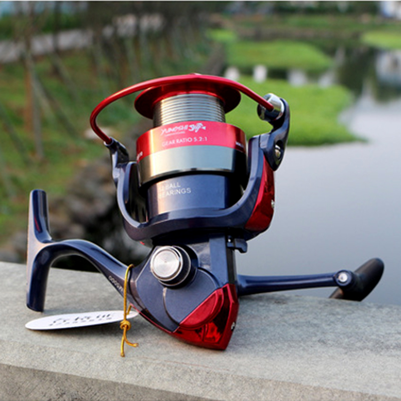 Fishing Pesca Reel 12BB 5.5:1/5.2:1 Spinning Reel Metal Spool Left/Right Interchangeable fishing accessories 2000-7000 series