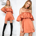 Sexy Women Dress Novelty Off The Shoulder Hot Selling Dress Mini Slim Bodycon Vestidos Retro Backless Women Clothes