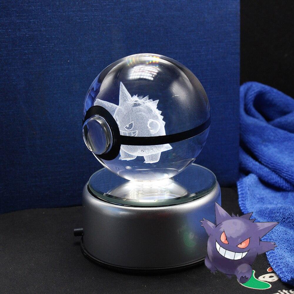 Neue Design Kristall Pokemon Gehen Ball Spielzeug Pokeball Für Kinder Weihnachten Souvenirs