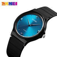 SKMEI моды часы женские Повседневное силиконовые Для женские часы водонепроницаемые Элитный бренд кварцевые часы женские наручные