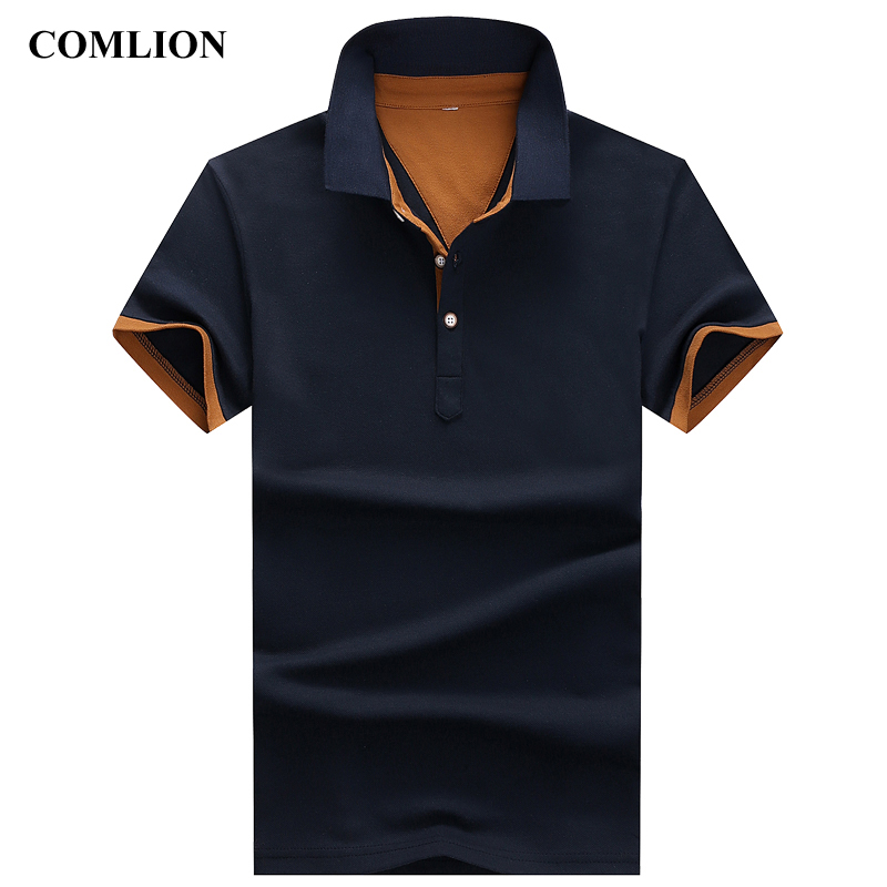 Fashion Poloshirts 2018 Polo Shirts For Men Casual Brand Clothing Business Male Breathable Mens Summer Polos para Hombre C22