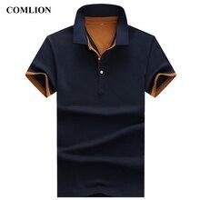 Poloshirts 2018 Polo de moda Camisas Para Os Homens Marca Negócio de Roupas  Casuais Masculino Respirável dc26ce3b7a415