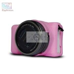 Image 3 - ソフトフレームゴムシリコンケースハウジングソニー A5000 A5100 ILCE5000 ILCE 5100 カメラ
