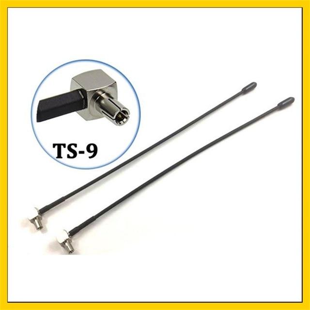 2 PCS 5dbi 4G TS9 מקורה אנטנת Wifi Booster exteral אנטנה עבור Huawei E5573 E5577 E5372 E8372 4g dongle מודם נתב