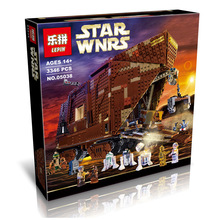 Hot  05038 3346 Unids Star Wars Force Despierta Sandcrawler Modelo Kit de Construccion Ladrillos Minifigure Bloques  Con 75059