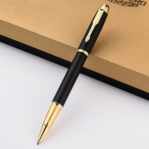 Image 3 - Luxury Business Replaceable refills Ballpoint pen Golden Clip Ball pen for gifts Office Signing Pens Stationery supplies 2007