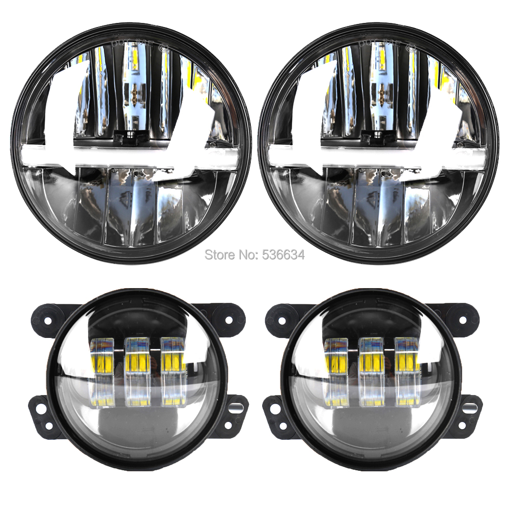 Phares ronds Led 7