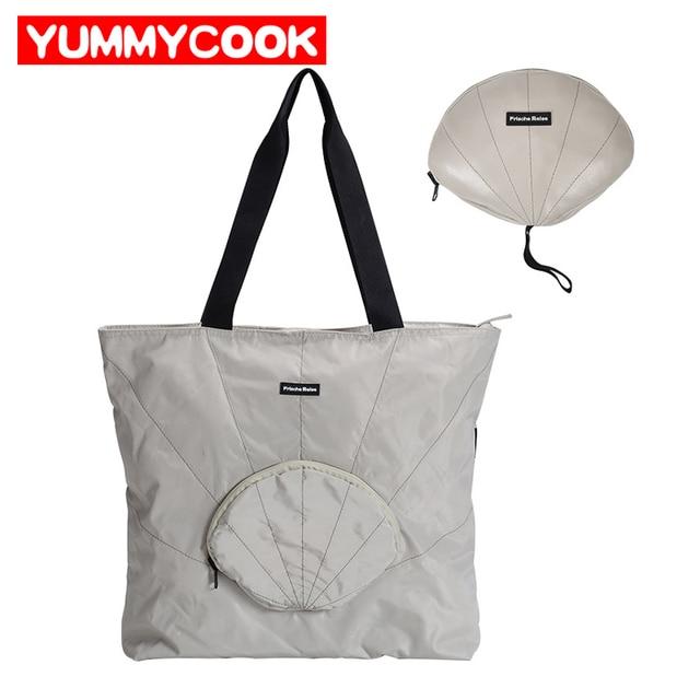 ddb1c17eb0fd Folding Travel Bags Women Fashion WaterProof Casual Duffle Bag Suitcase  Organizer Weekend Handbags Wardrobe Accessories Supplies