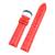 Nueva Llegada de la Alta Calidad Patrón de Lagarto Importado Italia piel de Becerro Genuino Correa de Reloj 18mm 20mm Marrón Oscuro y Rojo