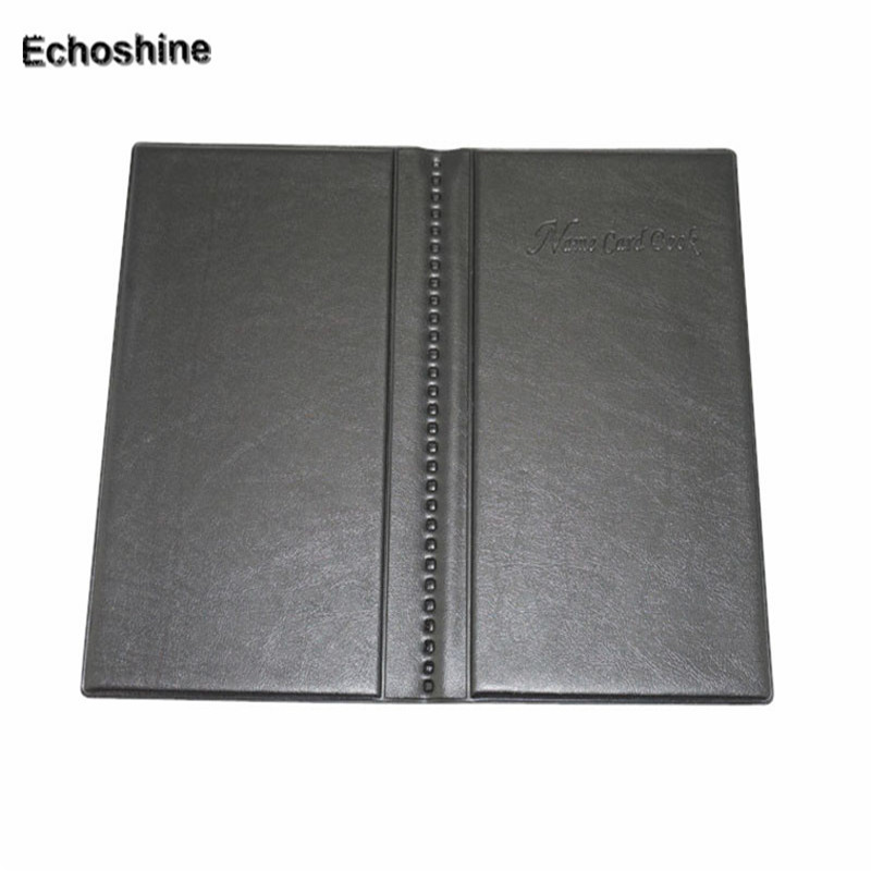 2016 professional design Leather 120 Cards ID Credit Card Holder Book Case Keeper Organizer Name Card Holder wholesale