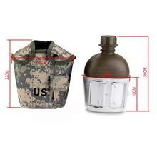 Ankunft Armee 1L Wasserflasche praktisch für Sport Wandern Camping Outdoor tragbare großhandel