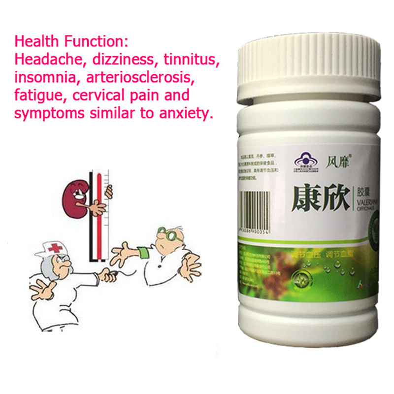 5Bottles reduce blood pressure Kangxin hypertension headache and dizziness symptoms due to hypertension depress blood pressure