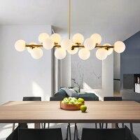 Золотой/черный скандинавский минималистичный Кулон лампы для столовой комнаты и прихожей бар современный подвесной светильник стеклянный