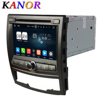 Android 6 0 Octa Core 2G Car DVD Video Player For Ssangyong Korando 2010 2011 2012