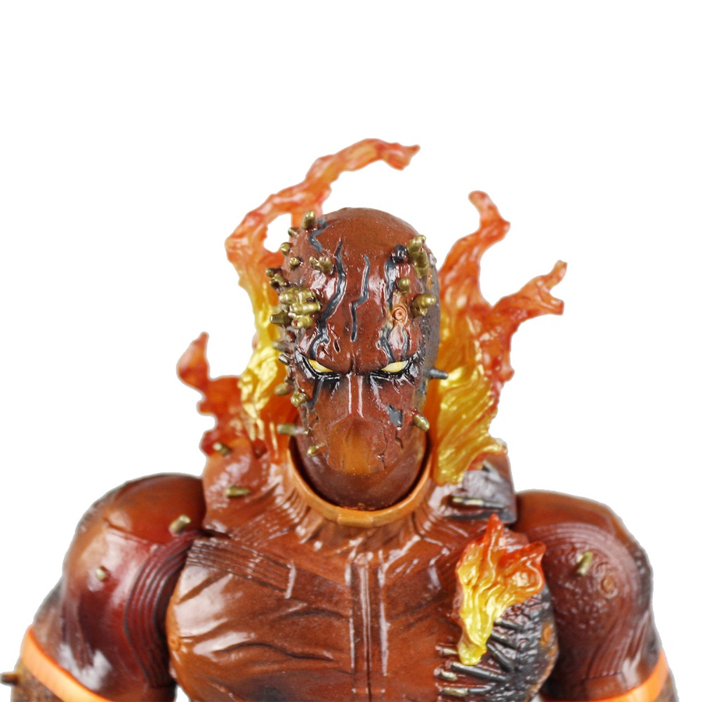 Play Arts Kai Metal Gear Solid V The Phantom Pain Burning Man Action Figure Free Shipping