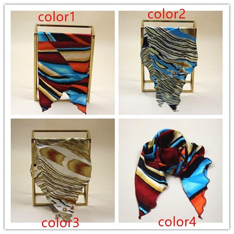# S112 100% Réel pur Doux foulard De Soie CHARMEUSE de soie Taille: 25*75 cm satin femmes