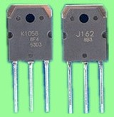 1 par nuevo 2SJ162 y 2SK1058 Hitachi J162 K1058 transistor de alta calidad