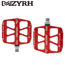 MZYRH MTB Ultralight Bike Pedals Mountain Road Pedal AluminiumCNCpedal durableBicycle Accessories Cycling
