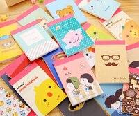 Cute kawaii animal Memo Pad pocket note Memo Notebook for kids writing gifts office school supplies