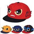 2015 шапки новая зимняя детская мультфильм цвет заклинание трехмерные крылья шляпа бейсболки плоским вдоль хип-хоп Унисекс