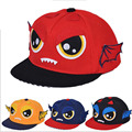 2015 caps new winter children's cartoon spell color three-dimensional wings hat baseball cap flat along the hip-hop Unisex