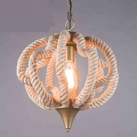 The A1 industrial design wind loft Pendant Lights cafe room restaurant bedroom twine Ball GY213