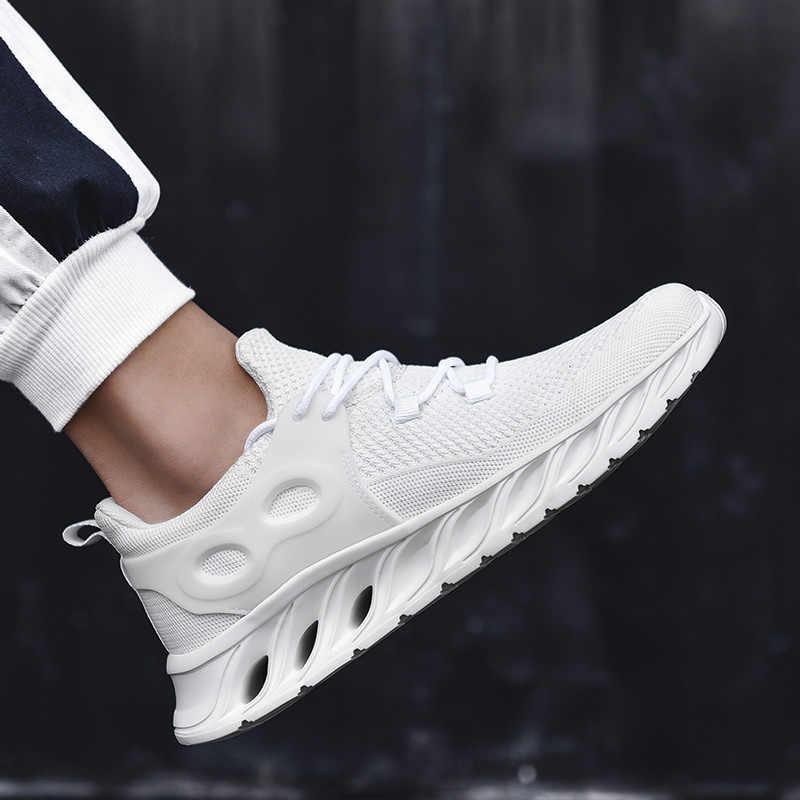 החדש ביותר פופולרי סגנון גברים נעלי ריצה חיצוני הליכה סניקרס זכר נוח אתלטי נעלי גברים ספורט משלוח חינם