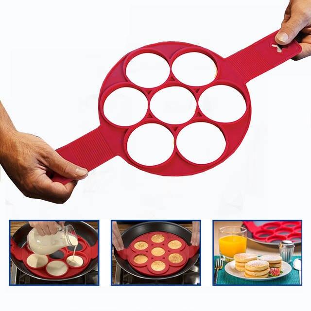 Online Transhome Egg Pancakes Cooking Tool Non Stick Pan Flip Breakfast Make Cheese Cooker Eggs Mold Kitchen Baking Accessories Aliexpress