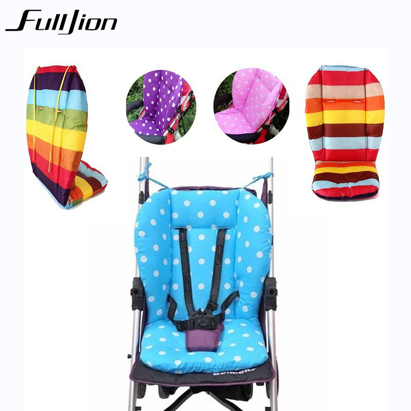 Thick Colorful cushion Baby Infant floor mat Breathable Stroller Padding Liner Car Seat Seat