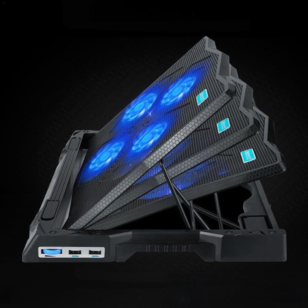 US $49 83 |K6 Laptop Radiator Silent Base 15 6/17/18 Inches Game Base  Computer Game Stand Holder For Alienware-in Laptop Cooling Pads from  Computer &