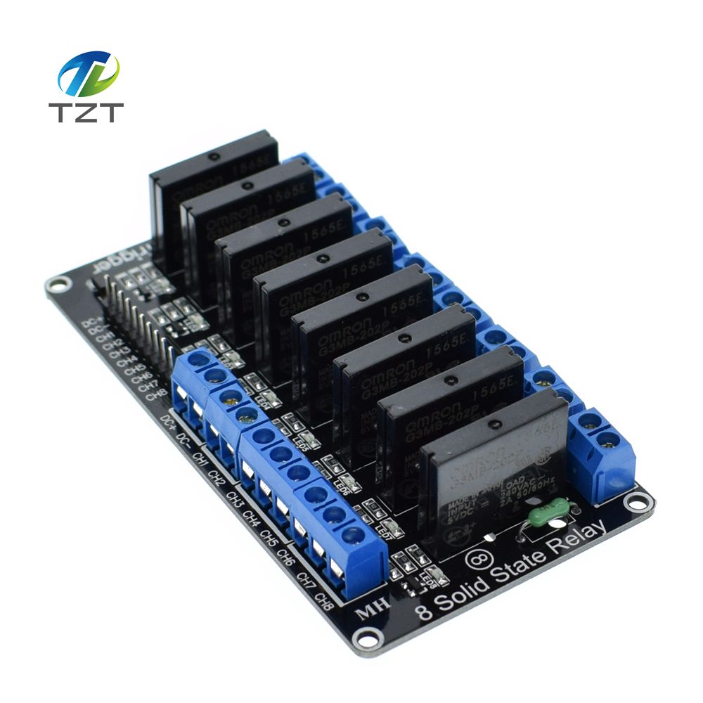 Pcs channel v dc relay module solid state high level