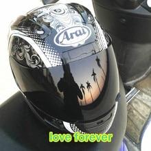 Motorcycle helmet full face Japan arai Male and female knight run motorcycle helmets all season skull snake