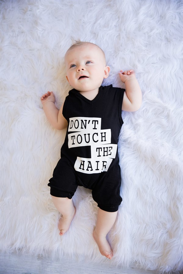 2018 Baby Clothing Summer Short Sleeve Onesies Romper Climbing Clothes Newborn Baby Hats Lettering Hooded Childrens Wear