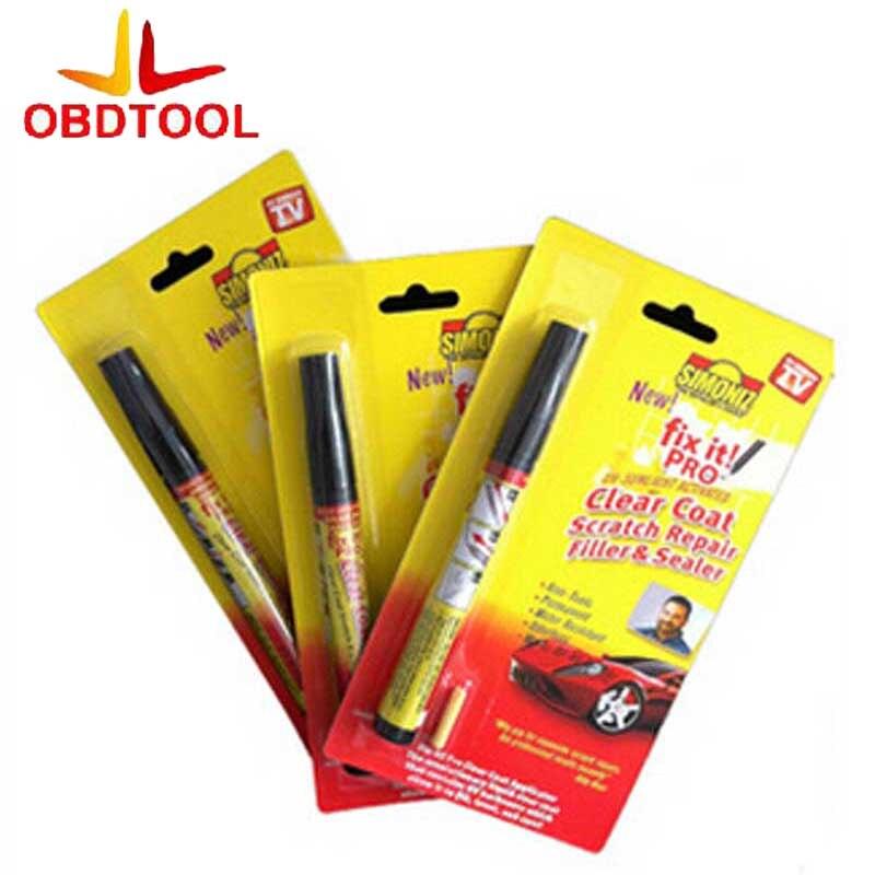 5Pcs Hot Selling Fix It Pro Clear Car Scratch Repair Pen Simoniz Clear Coat Applicator Free Shipping