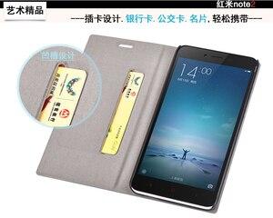 Image 3 - Funda de teléfono para Xiaomi Redmi Note 3 Pro, billetera de Estilo Delgado de lujo, Funda de cuero con tapa de PU Vintage para Xiaomi Redmi Note 4 5 Note 5a 7