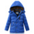 2016 Nuevos Niños de la Llegada de pato Abajo cubre niño Grande Abrigo parka gruesa cálido invierno Outerwears chaqueta desgaste nieve DQ091