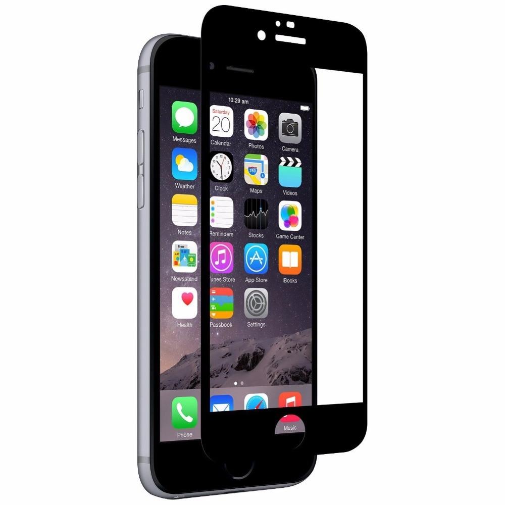5d permukaan melengkung kaca tempered untuk apple iphone 7 8 x kaca - Aksesori dan suku cadang ponsel - Foto 5