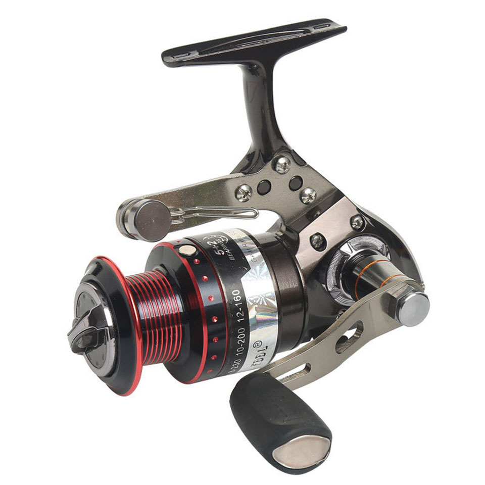 5+2BB 5.2:1 Full Metal Fishing Reel Centrifuge Rotor Gapless Left-right Interchangeable Feeder bait casting fishing wheel аккумулятор patriot 12v 1 5 ah bb gsr ni