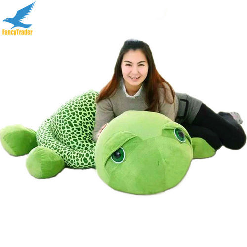Fancytrader 59\'\' 150cm Lovely Stuffed Soft Giant Tortoise Turtle Toy, Free Shipping FT50059 (4)
