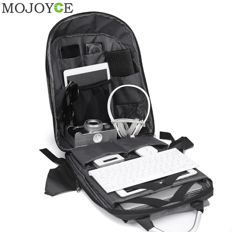 15.6 Inch Laptop Anti-theft Men Backpack With Usb Charging Headphone Interface Port Lock Business Waterproof For Work Women #5