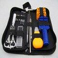 High-Grade 15 pcs Assista Tool Set Assista Repair Kit Ferramentas Assistir Ferramentas Bits de Relojoeiros Conjunto Com Bainha de Couro/pinos