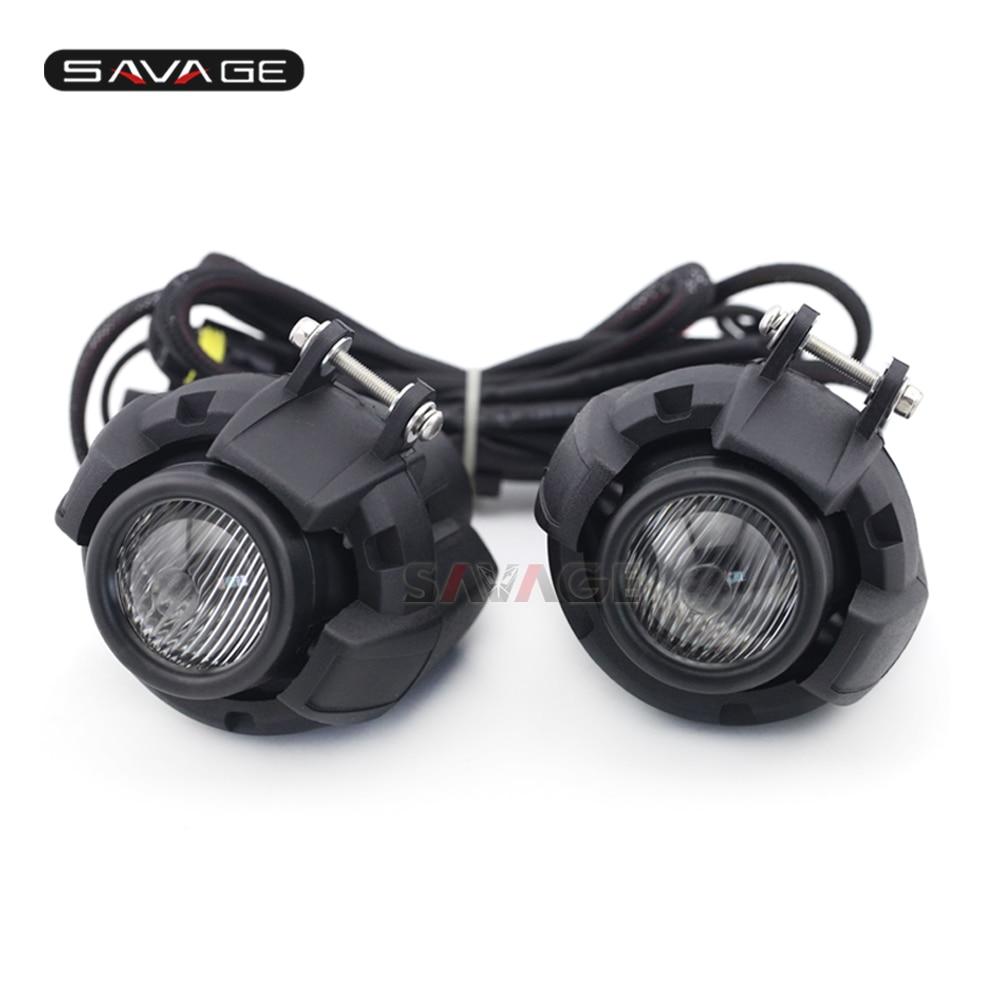 Universal Driving Aux Lights Combination Fog font b Lamp b font For HONDA CRF 1000 L