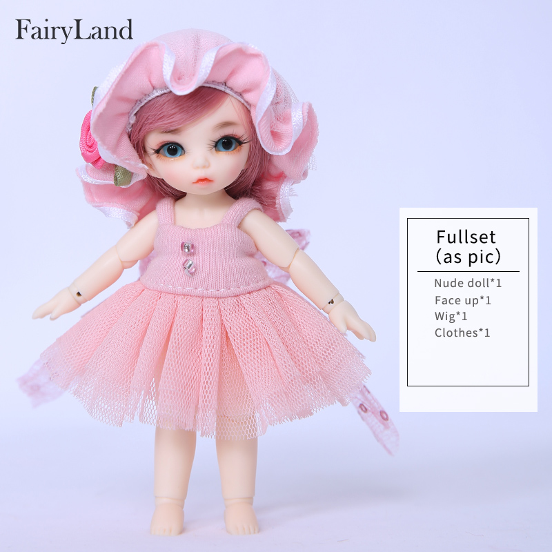Fairyland Pukipuki Ante bjd sd docka 1/12 kroppsmodell tjejer killar - Dockor och tillbehör - Foto 5
