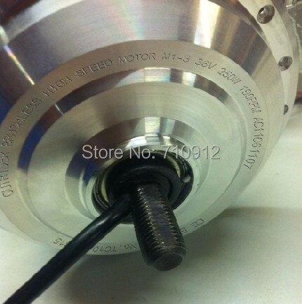 OR01A4 80 MM/260 rpm 36 v 250 w dc kits de moteur électrique pour vélo pliant/vélo Brompton