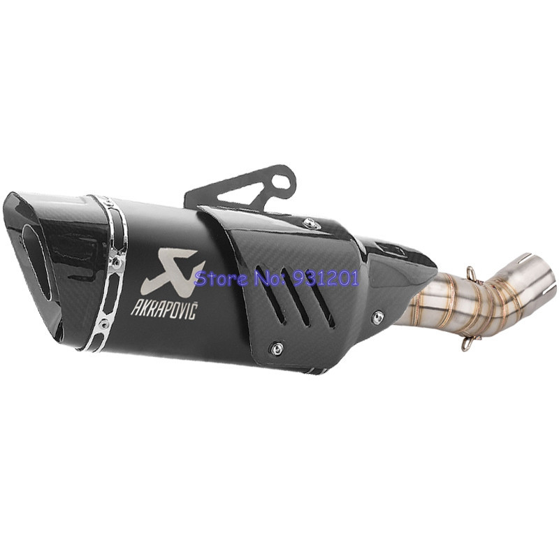 Motocycle Exhaust Z900 Akrapovic Kawasaki Muffler Escape Middle-Link-Pipe for A2